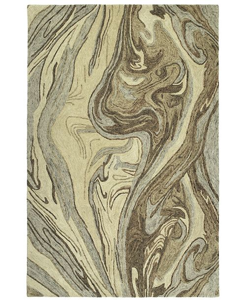 "Kaleen Marble MBL02-29 Sand 9'6"" x 13' Area Rug"