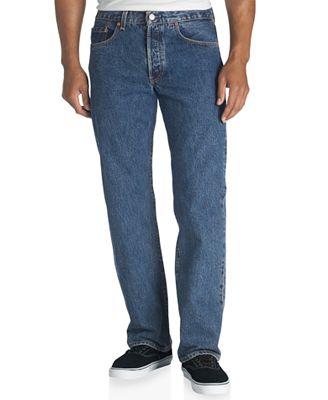 Levi's Men's 501 Original Fit Jeans - Jeans - Men - Macy's