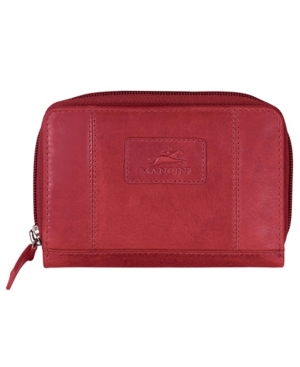 Casablanca Collection Rfid Secure Small Clutch Wallet