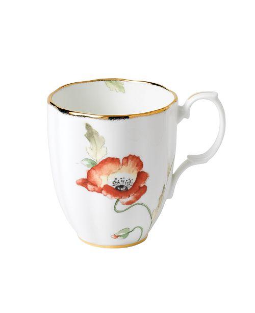 Royal Albert 100 Years 1970 Mug Poppy