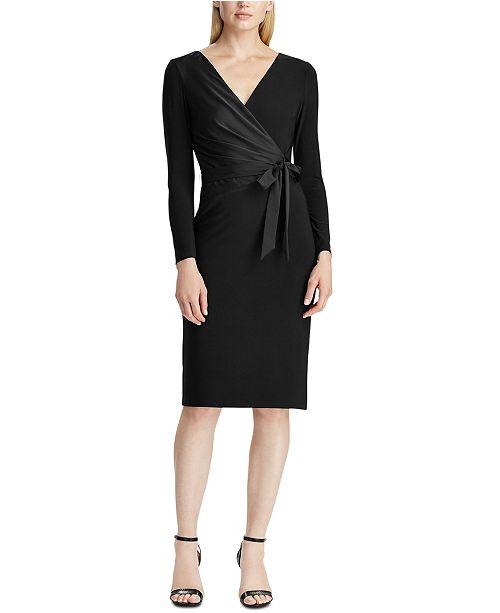 Lauren Ralph Lauren Bow-Detail Dress