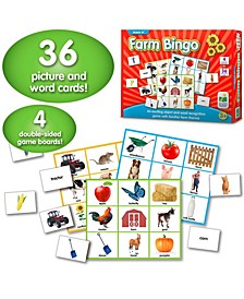 Match It Bingo- Farm