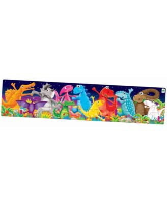 The Learning Journey Long and Tall Puzzles- Color Dancing Dino's - Dinosaur Toy