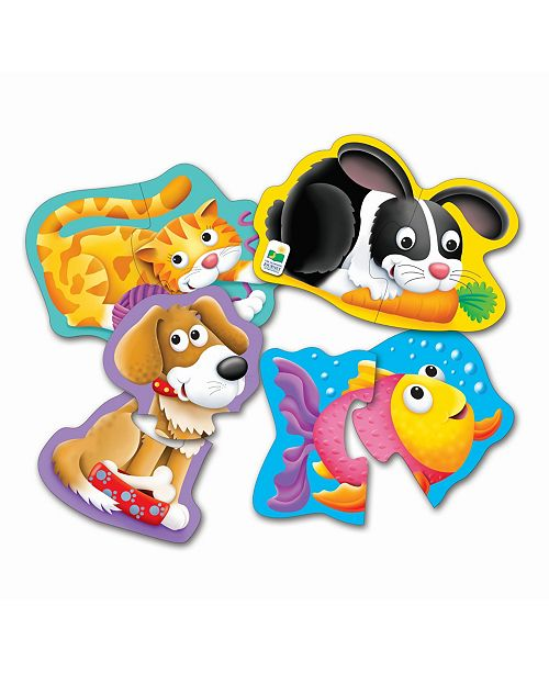 The Learning Journey My First Shaped Puzzles- Pets