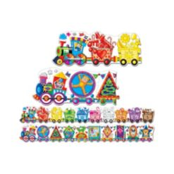 The Learning Journey Puzzle Doubles- Giant Colors and Shapes Train Floor Puzzles