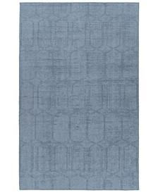 Minkah MKH03-17 Blue 2' x 3' Area Rug