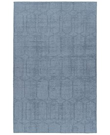 Minkah MKH03-17 Blue 9' x 12' Area Rug
