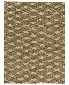"Tulum Jute TUL02-40 Chocolate 7'6"" x 9' Area Rug"