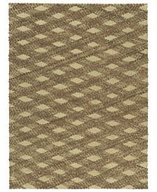 Kaleen Tulum Jute TUL02-40 Chocolate 7'6 x 9' Area Rug