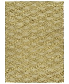 "Tulum Jute TUL02-72 Maize 7'6"" x 9' Area Rug"