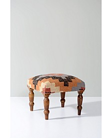 Upholstered Square Accent and Foot Stool