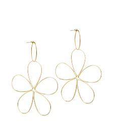 Amorcito Space Flower Earrings