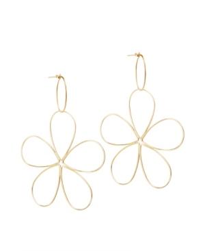 Space Flower Earrings
