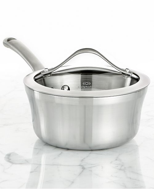 Calphalon Contemporary Stainless Steel 1.5 Qt. Covered Saucepan