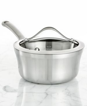 Calphalon Contemporary Stainless Steel 1.5 Qt. Covered Saucepan 142099