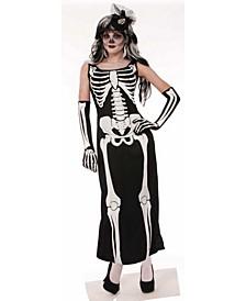 BuySeason Women's Bone Long Dress Costume