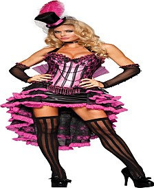 Women's Burlesque Beauty Costume