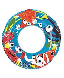 """Inflatable Children's Swimming Pool Inner Tube Ring Float 20"""""""