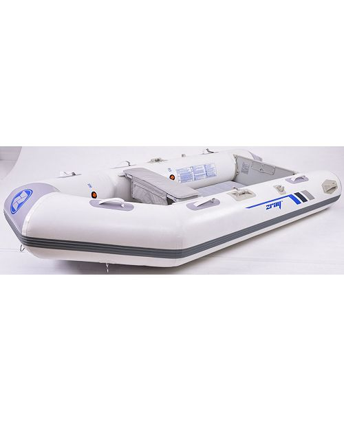 Northlight 10' Zray Ranger 400 3-Person Inflatable Dinghy Boat with Oars and Pump