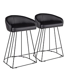 Canary Counter Stool, Set of 2