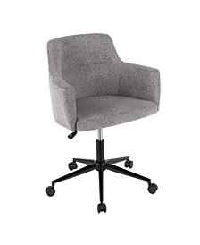 Astonishing Lumisource Swiss Adjustable Office Chair With Swivel In Evergreenethics Interior Chair Design Evergreenethicsorg