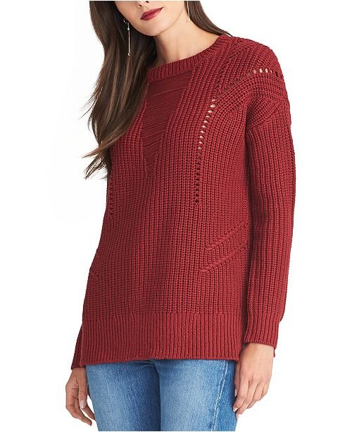 RACHEL Rachel Roy Textured Sweater