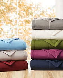 Down Alternative Reverse to Plush Blanket Collection, Created for Macy's