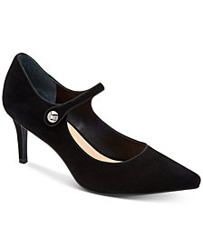 Alfani Women's Jerikaa Step 'N Flex Mary Jane Pumps, Created For Macy's