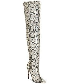 Destined Over-The-Knee Dress Boots