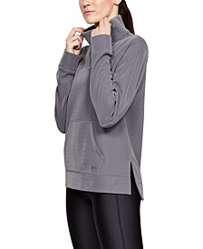 Armour Fleece Mock-Neck Training Top