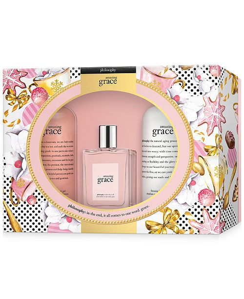 philosophy 3-Pc. Amazing Grace Eau de Toilette Jumbo Gift Set