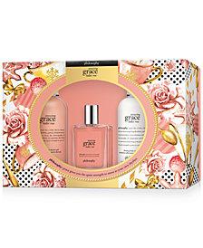 philosophy 3-Pc. Amazing Grace Ballet Rose Eau de Toilette Gift Set