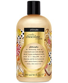 philosophy Vanilla Chocolate Crumble Shower Gel, 16-oz, Created for Macy's