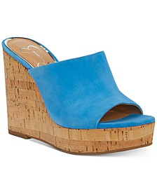 Shantelle Slide Wedge Sandals
