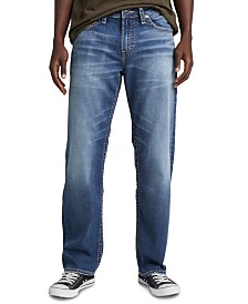 Silver Jeans Co. Men's Hunter Athletic-Fit Tapered Jeans