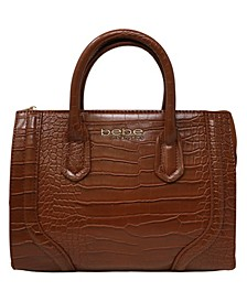 Trina Mini Croco Satchel