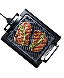 Titanium Non-Stick Coating Electric Indoor Smoke-less Grill