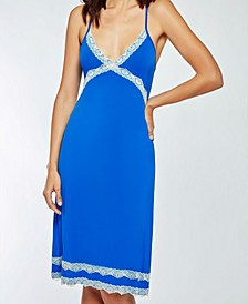 Elegant Modal Ultra Soft Chemise Nightgown, Online Only