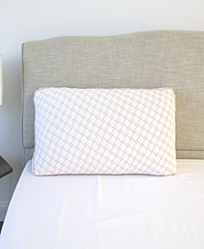 Supportive Memory Foam Cluster Pillow with Copper-Infused Cover - King