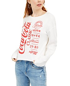 Juniors' Coca-Cola Graphic Sweatshirt