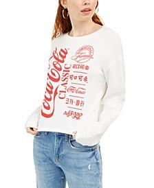 Juniors' Coca-Cola Graphic Sweatshirt