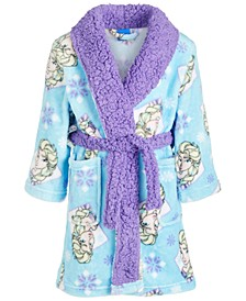 Toddler Girls Fleece Frozen Robe
