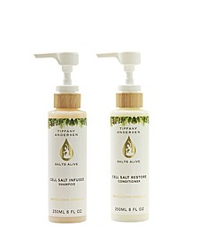 Cell Salt Infused Shampoo and Restore Conditioner 2 Piece feat. Hemp Seed Oil