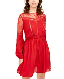 Juniors' Lace Dress, Created For Macy's
