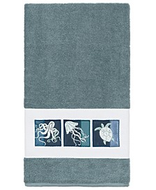 100% Turkish Cotton Ava Embellished Bath Towel