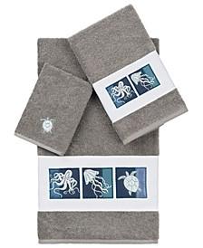 100% Turkish Cotton Ava 3-Pc. Embellished Towel Set