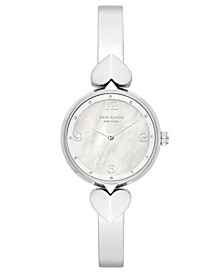 Women's Hollis Stainless Steel Bracelet Watch 30mm