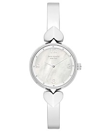 Kate Spade New York Women's Hollis Stainless Steel Bracelet Watch 30mm