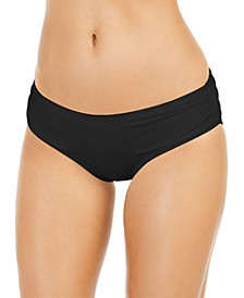 Shirred Bikini Bottoms