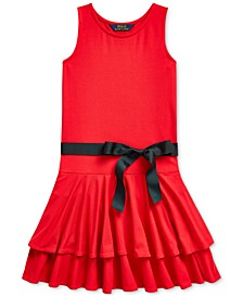 Big Girls Tiered Stretch-Modal Dress